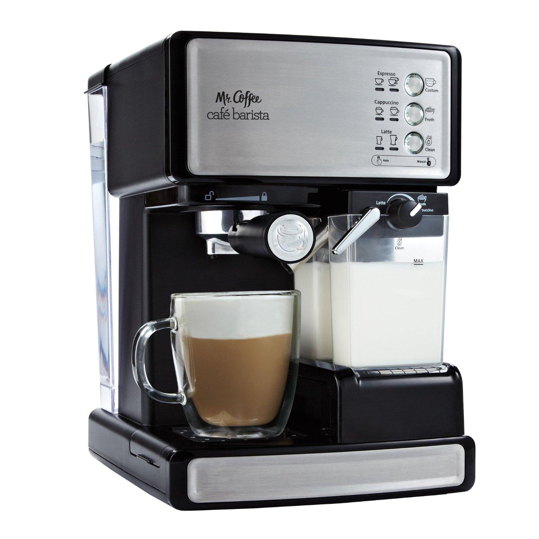 Mr Coffee Cafe Barista Premium Espresso Cappuccino System ECMP1000