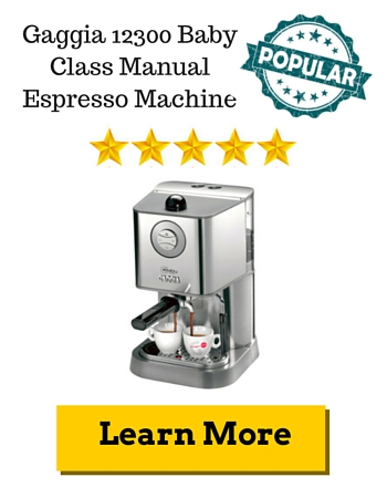 Gaggia 12300 Baby Class Manual Espresso Machine Review