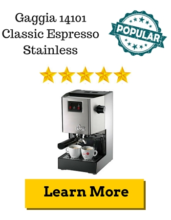 Gaggia 14101 Classic Espresso Stainless Review