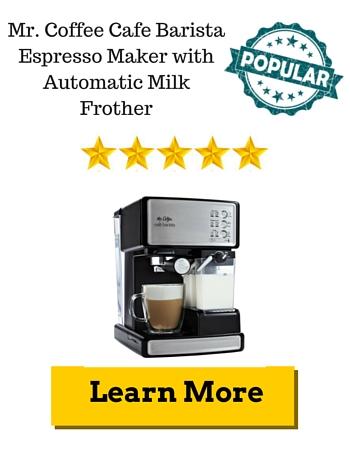 Mr. Coffee Cafe Barista Espresso Maker Review