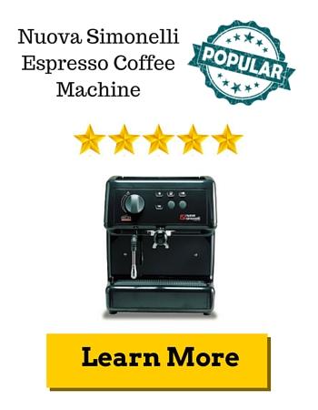 Nuova Simonelli Espresso Coffee Machine Review