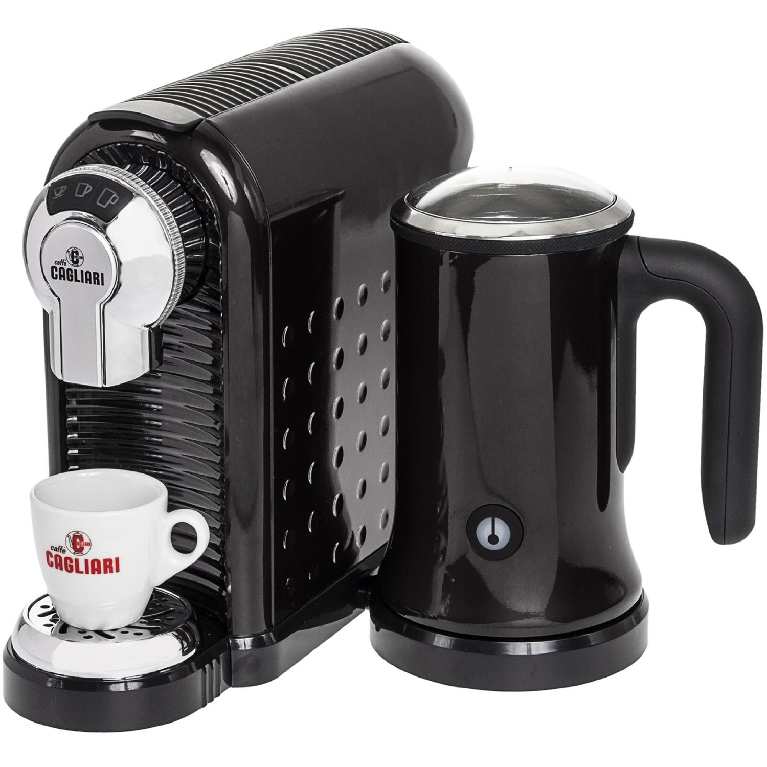 Italian Coffee Maker Pods : Caffe Cagliari Italian Espresso Machine Review