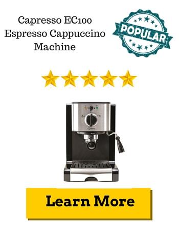 Capresso EC100 Espresso Cappuccino Machine Review