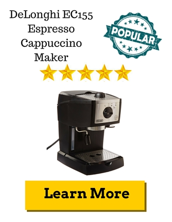 DeLonghi EC155 Espresso Cappuccino Maker Review