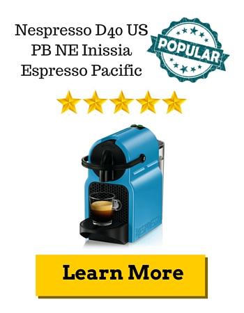 Nespresso D40 US PB NE Inissia Espresso Pacific Review