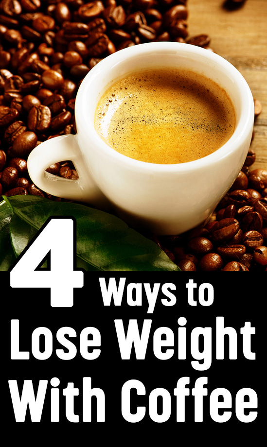 How to lose weight by drinking coffee